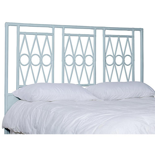 Devonshire Headboard, Light Blue
