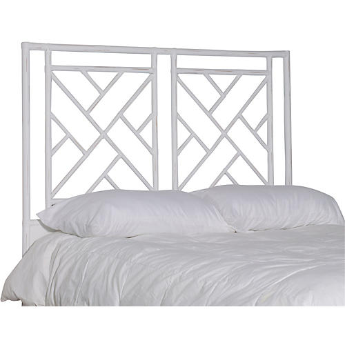 Alden Headboard, Distressed White