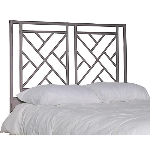Alden Headboard, Smoke