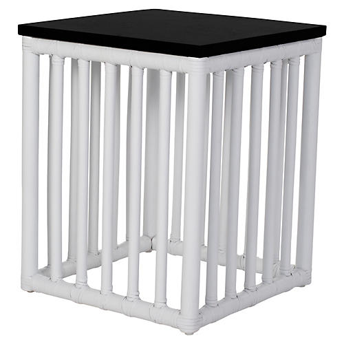Tao Side Table, White