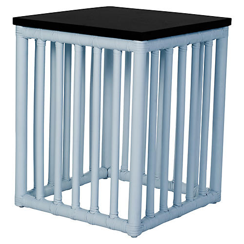 Tao Side Table, Light Blue