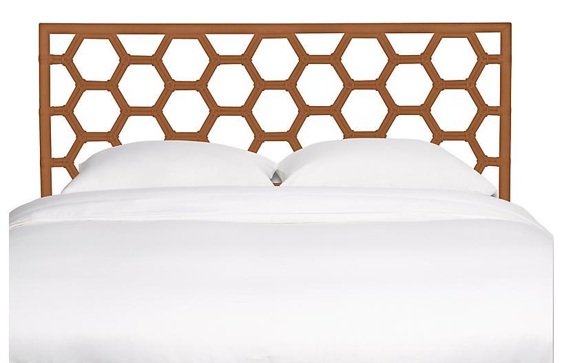 Honeycomb Headboard, Caramel