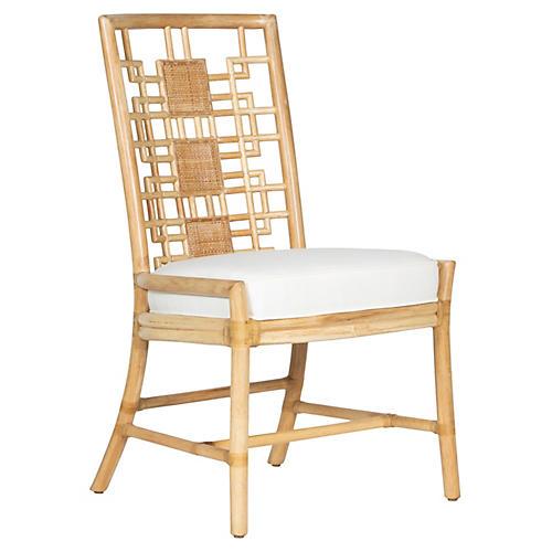 Chloe Side Chair, White