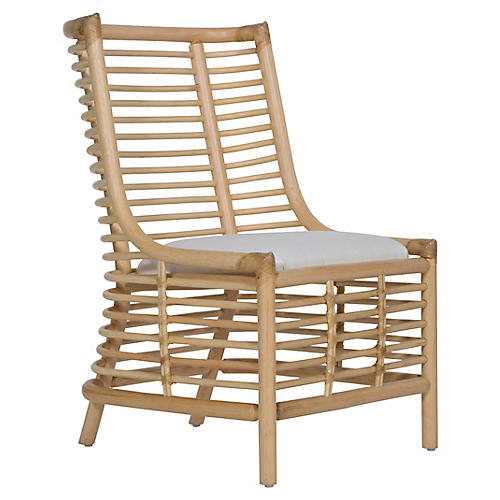 Sienna Side Chair, White