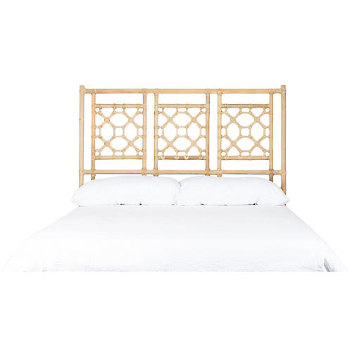 Lattice Headboard, Natural