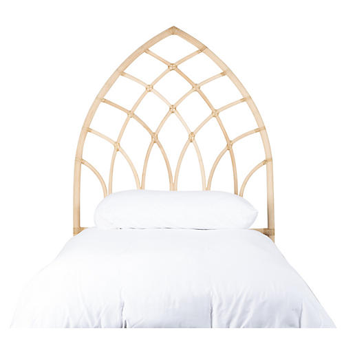 Cathedral Kids' Headboard, Natural
