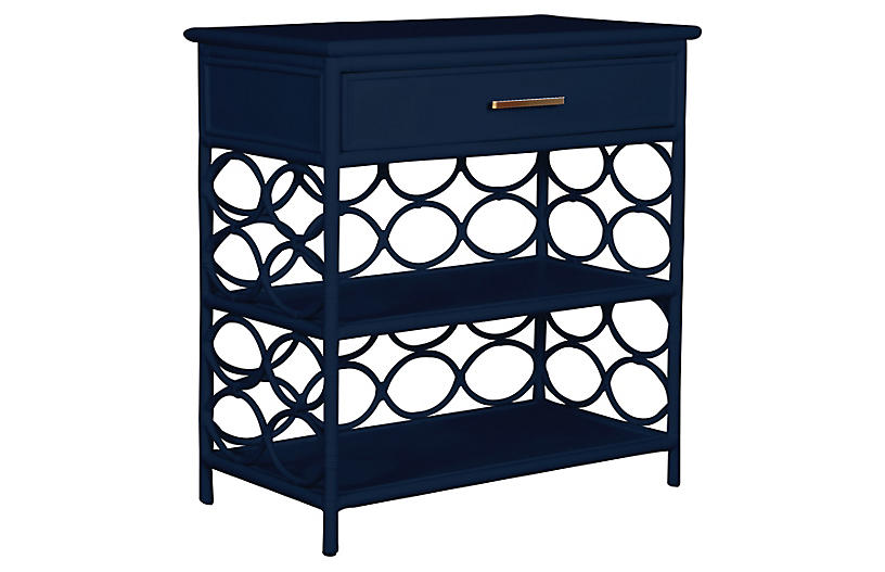 Isla Side Table, Navy