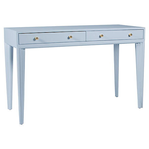 Barcelona Desk, Light Blue