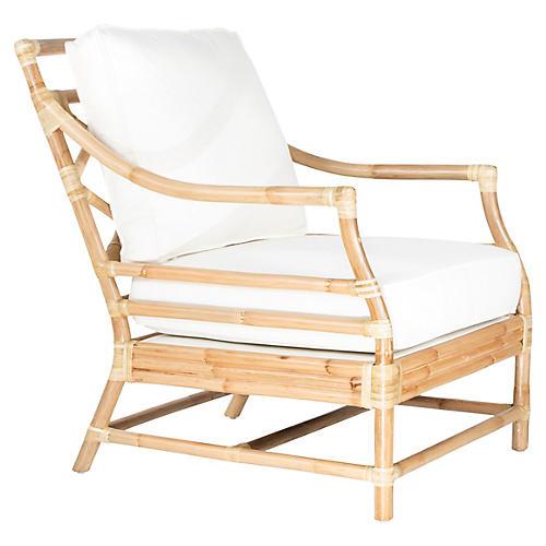 Savannah Accent Chair, Natural