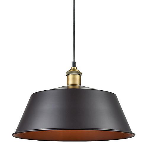 Dawkner Pendant, Bronze/Brass