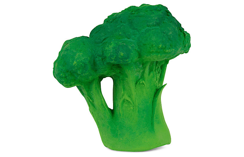Brucy the Broccoli Teether, Green