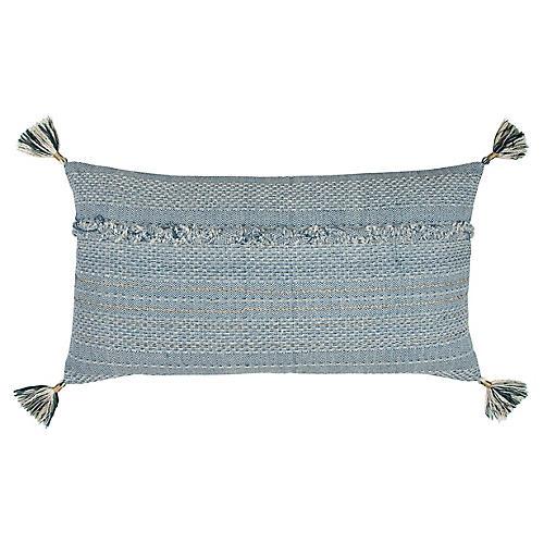 Saki 14x26 Lumbar Pillow, Ocean