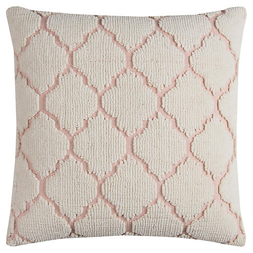Lizzie 20x20 Pillow, Pink