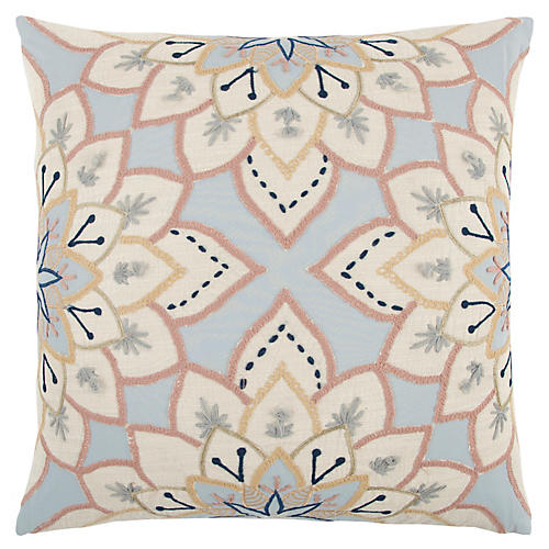 Celeste 20x20 Pillow, Blue