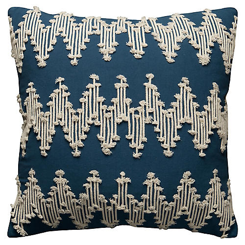 Sloane 20x20 Pillow, Navy