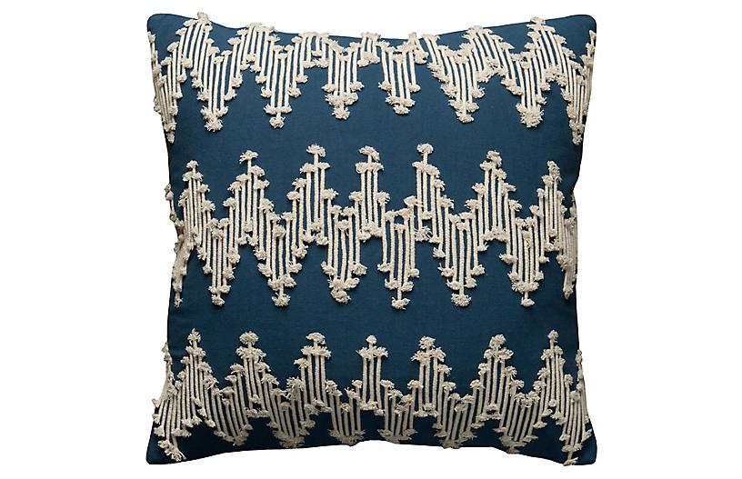 Sloane 20x20 Pillow, Navy