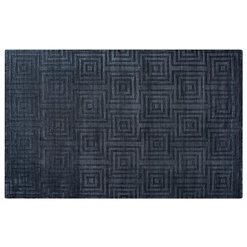 Lobel Rug, Charcoal/Gray