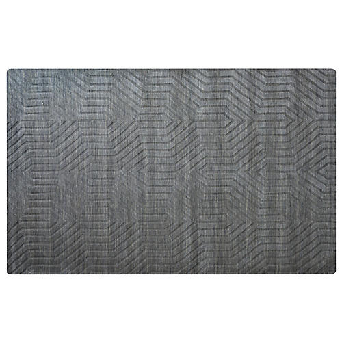 Sassoon Rug, Dark Gray
