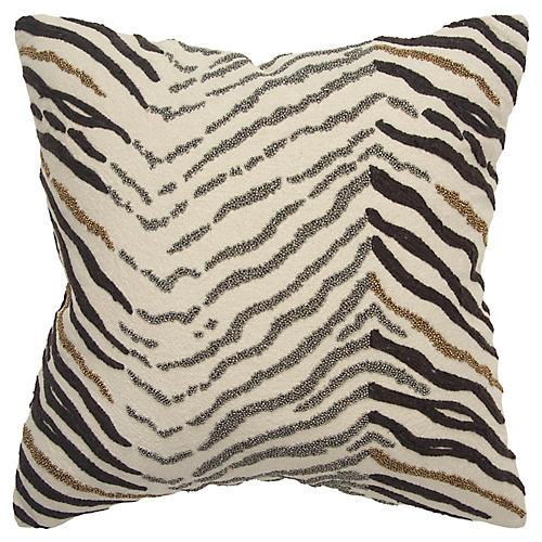 Lucine 18x18 Pillow, Cream