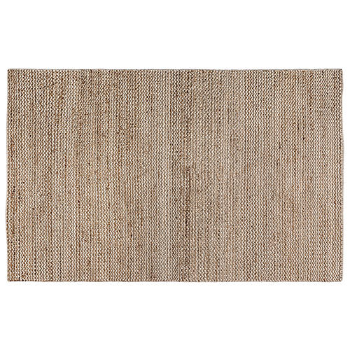 Rosin Flat-Weave Rug, Natural