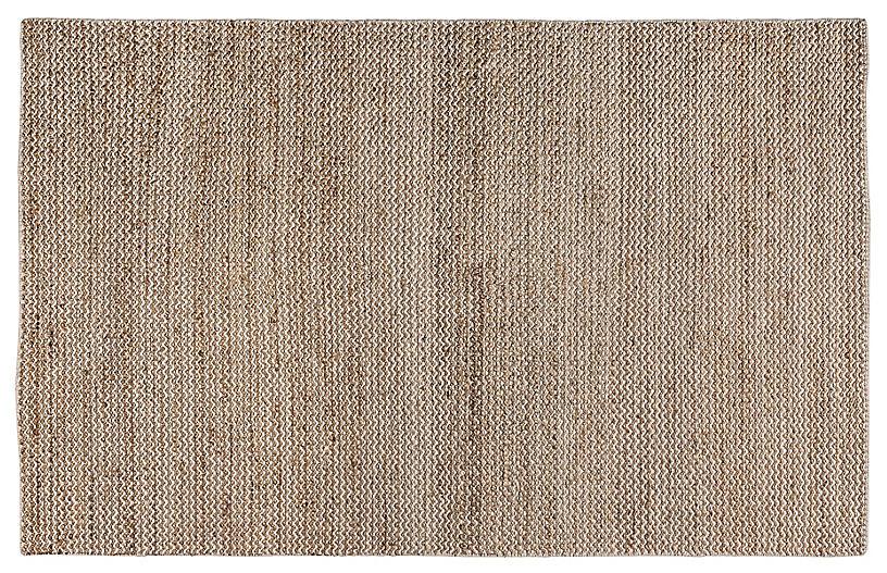 Rosin Flat-Weave Rug, Natural
