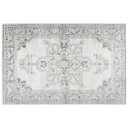 Aldridge Rug, Gray/Natural