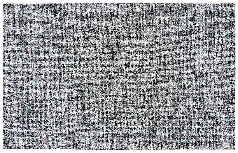 Maria Rug, Black/White