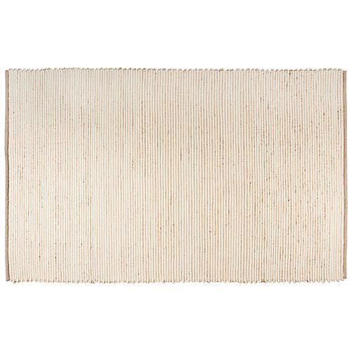 Trende Flat-Weave Rug, Tan
