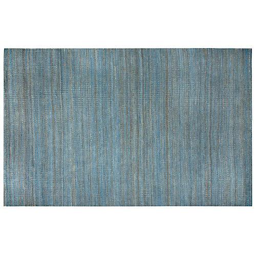 Camilla Flat-Weave Rug, Blue