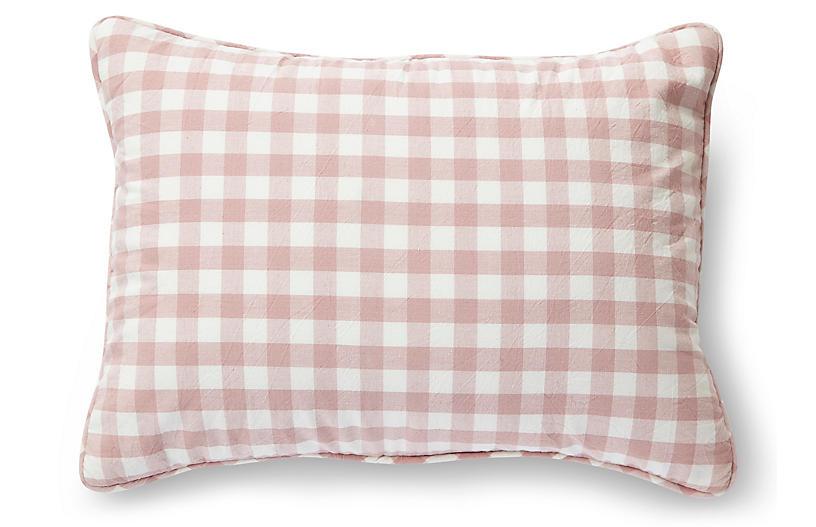 CheckMate Nursery Pillow, Blossom