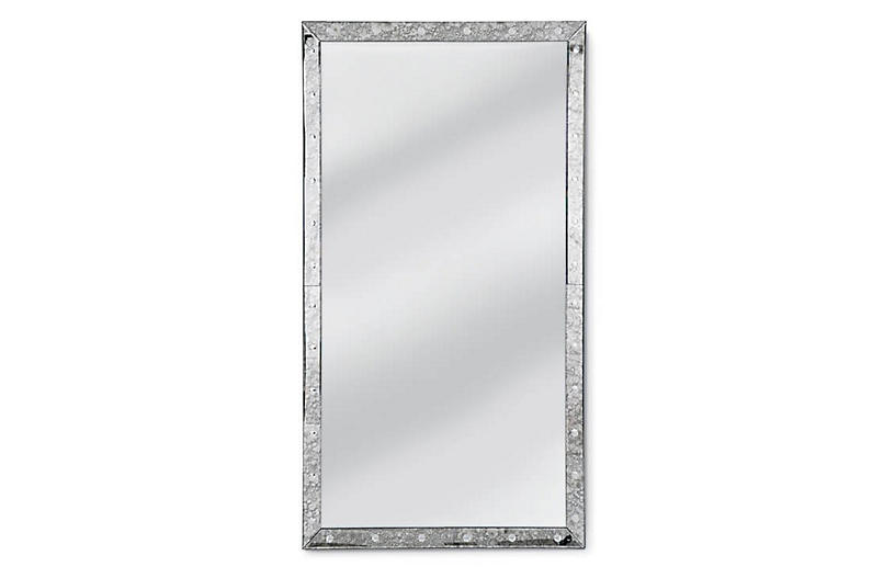 Venetian Floor Mirror, Mirrored
