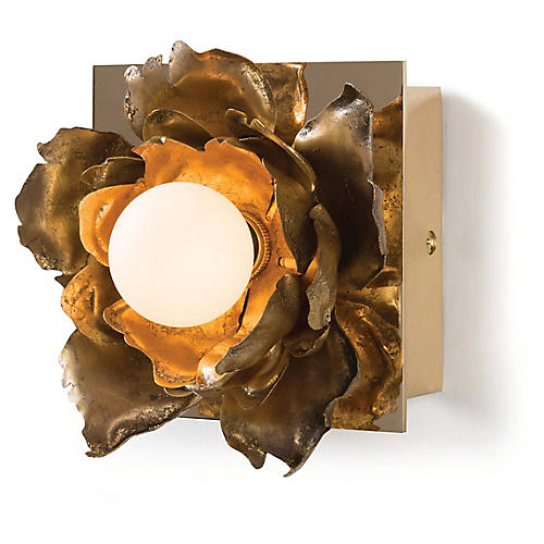 Adeline Petite Sconce, Gold