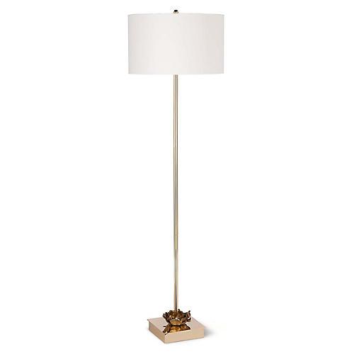 Adeline Floor Lamp, Gold