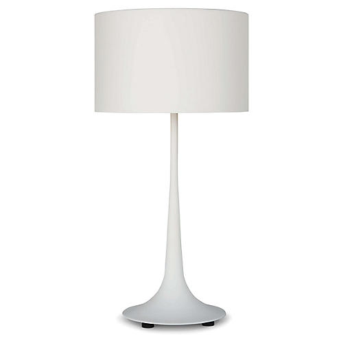 Trilogy Table Lamp, White