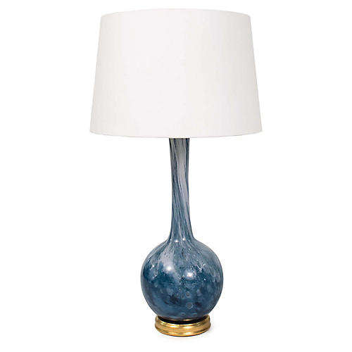 Paradise Table Lamp, Blue