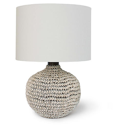Amelia Table Lamp, Off-White