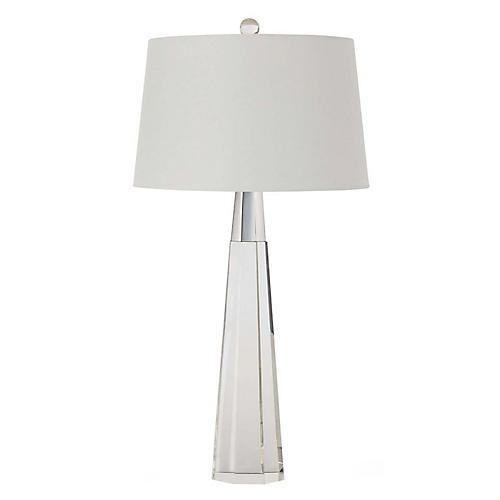 Carli Table Lamp, Clear