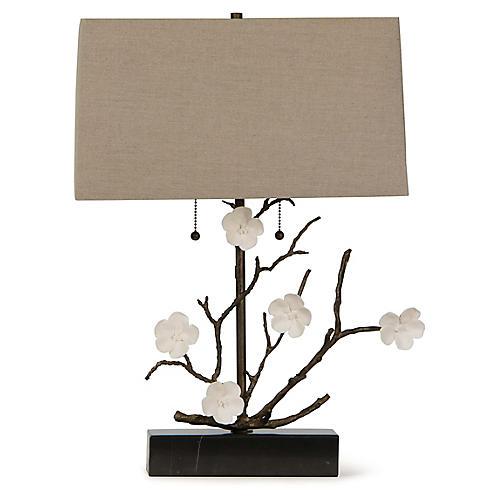Cherise Table Lamp, Oil-Rubbed Bronze