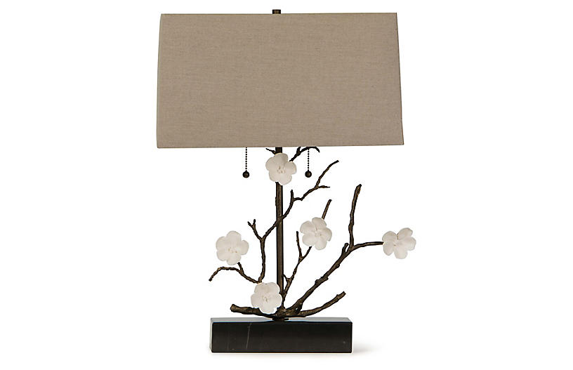 Cherise Table Lamp, Oil-Rubbed Bronze