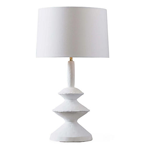 Hope Table Lamp, White