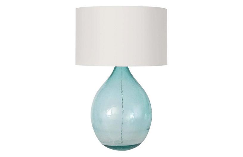 Catalina Table Lamp, Blue
