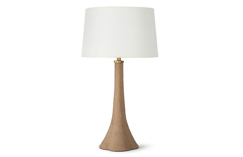Nona Rope Table Lamp, Natural