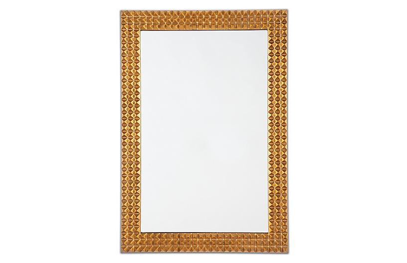 Pantera Wall Mirror, Gold