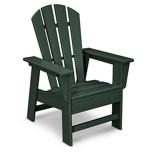 Kids' Adirondack Chair, Green
