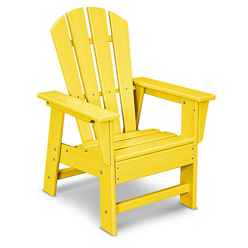 Kids' Adirondack Chair, Lemon