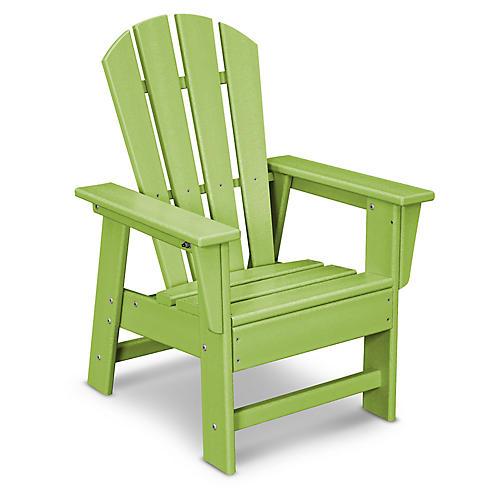 Kids' Adirondack Chair, Lime