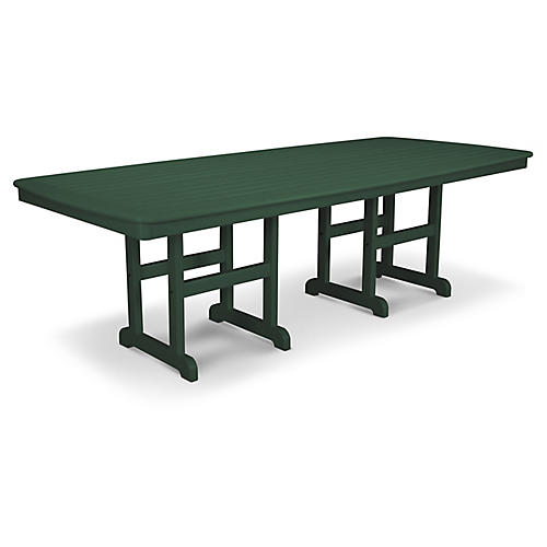 Nautical Dining Table, Green