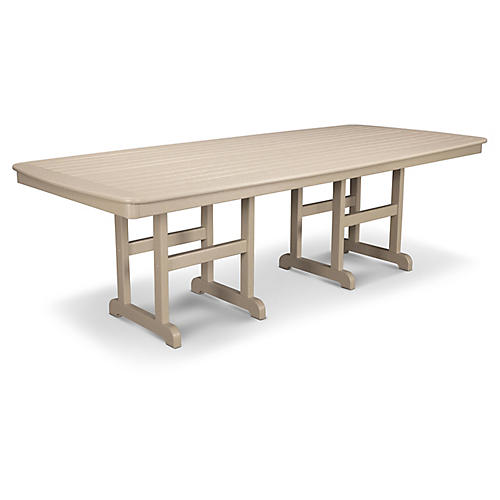 Nautical Dining Table, Sand