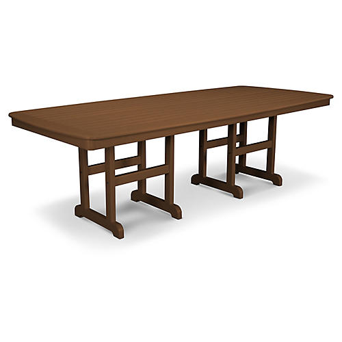 Nautical Dining Table, Espresso