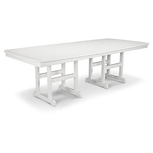 Nautical Dining Table, White